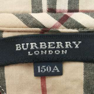 Burberry London 有帽外套