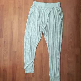 Grey sweatpants joggers