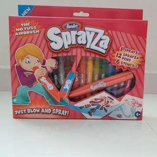 SprayZa spray paint