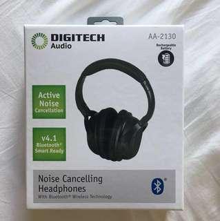 Digitech Noise Cancelling Bluetooth Headphones