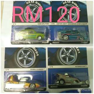 Lot Hot wheels real riders (nego)