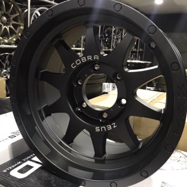 """16"""" Zeus Cobra 4x4 sport rim"""