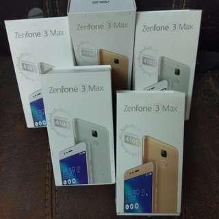 (清倉)ZenFone 3 Max 全新機 水貨 一星期一換一