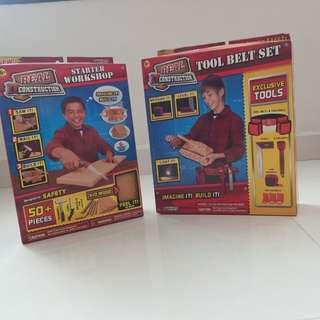 Starter Workshop and Tool Belt Set