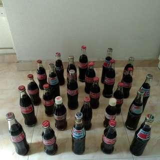 Assorted Pepsi, Coke 26 Bottles, unopened