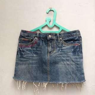 Mini skirt denim (reprice!!)