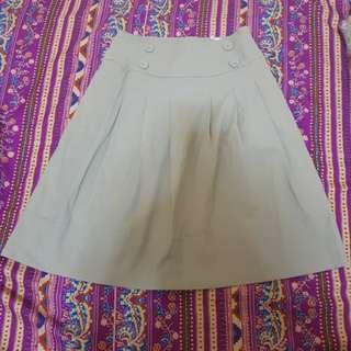 Cream Skirt