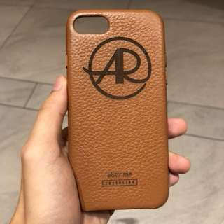 Custom Genuine Leather cases for iPhone 8 and iPhone 7