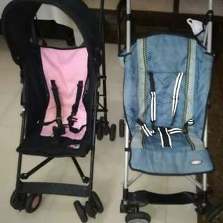 baby stroller (1 big &1small)