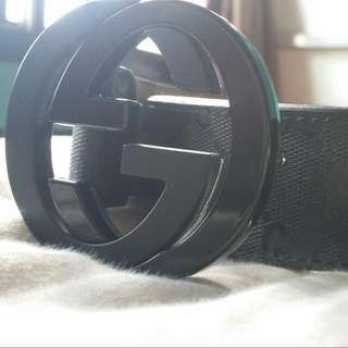 Used Authentic Gucci Belt