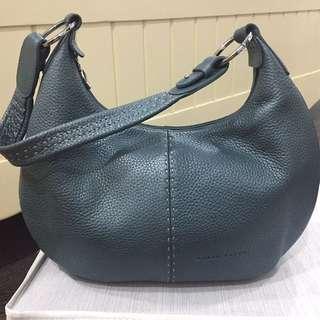 Braun Buffel soft leather mint shoulder handbag