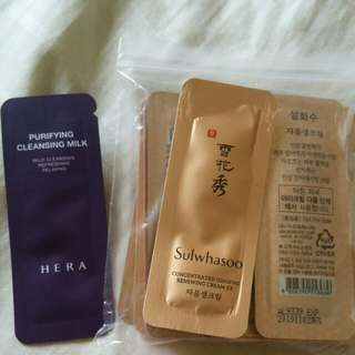 Sulwhasoo Samples~Concentrated Ginsemg Renewing Cream EX