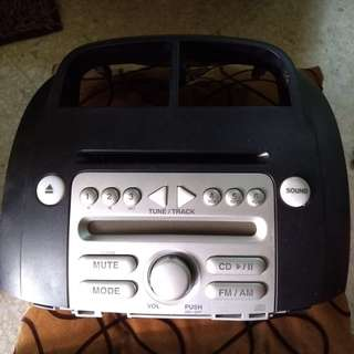 Myvi double din with cd player Ori