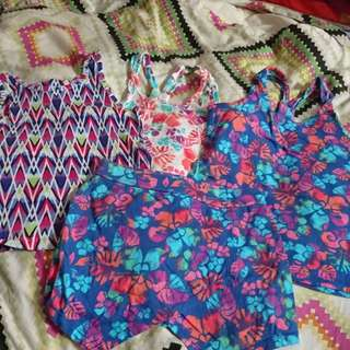 Lot of girls top and skirt by the childrens place(tcp)