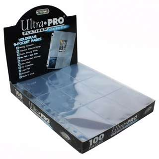 Ultra Pro 9-Pocket Pages Platinum Series