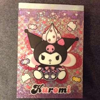 Kuromi Note book