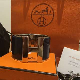 Authentic Hermes H Clic Clac Extra Wide