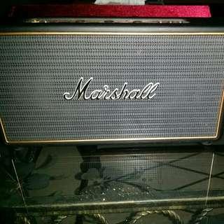 Pristine Cond Marshall Wireless Speakers