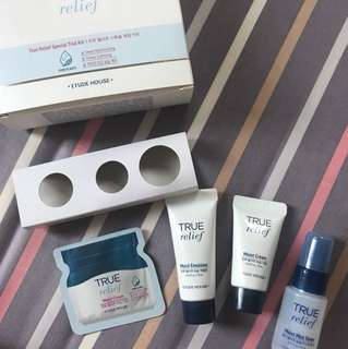 Etude House True Relief Sample Kits