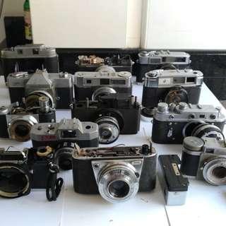Camera #16...Spoilt film cameras...13 for $13...for repair spare parts