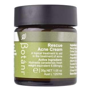 NEW Botani Resue Acne Cream