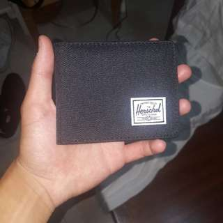Herschel black wallet