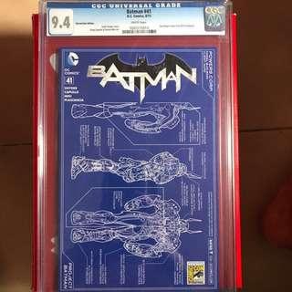 Batman #41 SDCC CGC 9.4