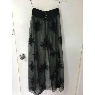 Mesh Festival Skirt