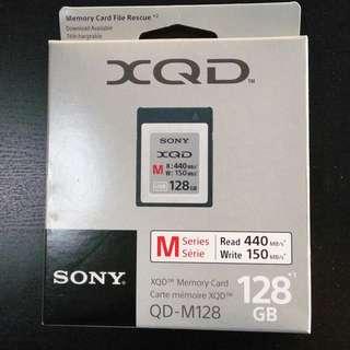 SONY XQD MEMORY CARD M SERIES 128GB