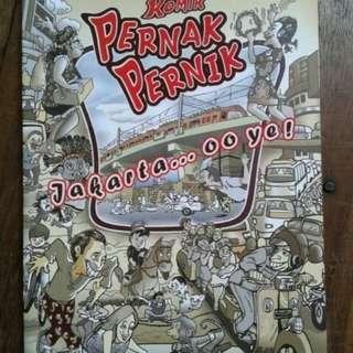 Buku komik pernak pernik jakarta
