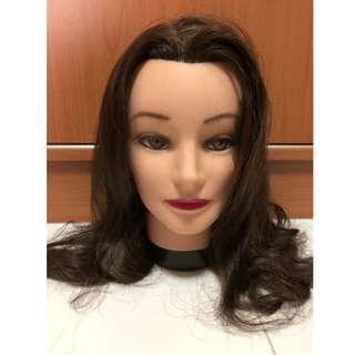 Mannequins Dolly head for hair cut practise