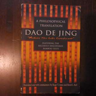 Dao De Jing / Tao Te Ching of Lao Tzu