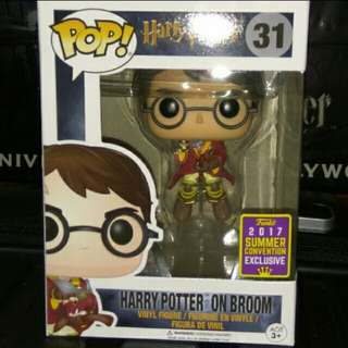 (ON HAND) Harry Potter on Quidditch Broom Funko Pop