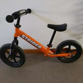 Preloved strider bike