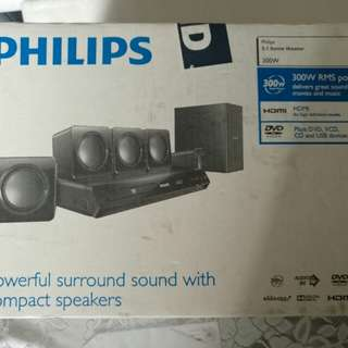 Philips 5.1 Home Theatre