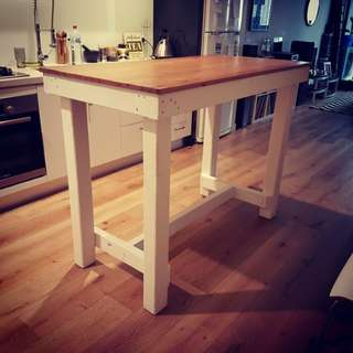Timber island Bench Table Bar