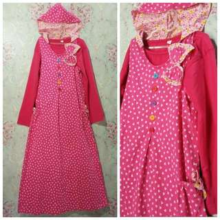 Dress Hodie Set Inner