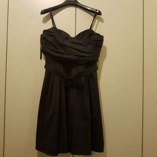 Black Party Cocktail Dress Fully Lined Size XL