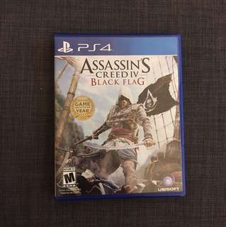 Assasin Creed Black Flag PS4
