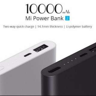 *Restock* Xiao Mi Power Bank Ver.2 10000mah