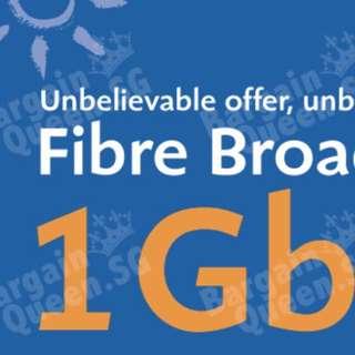M1 1Gbps Fibre Home Bundle Broadband