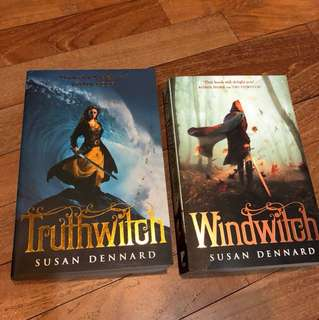 Truthwitch by Susan Dennard (Books 1&2)
