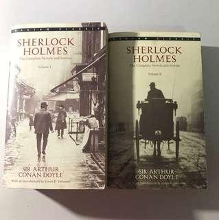 Complete sherlock holmes series(book)