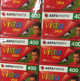 35mm Films Agfa Vista 400