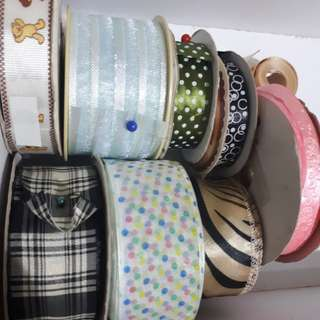 Assorted Ribbons destash