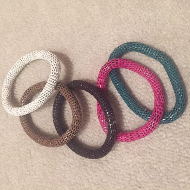 1 set Snake skin design bracelets