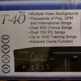 P-Series Platinum karaoke Player