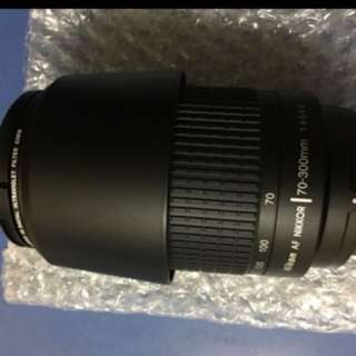 Nikon 70-300 mm DSLR very big zoom lens new