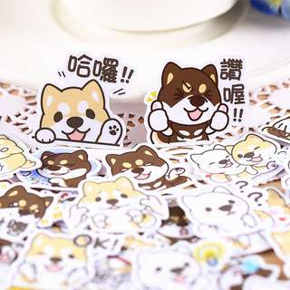 Corgi & Friends Scrapbook / Planner Stickers #52