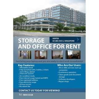Serviced Office Room For Rent At Vertex (Tai Seng MRT)